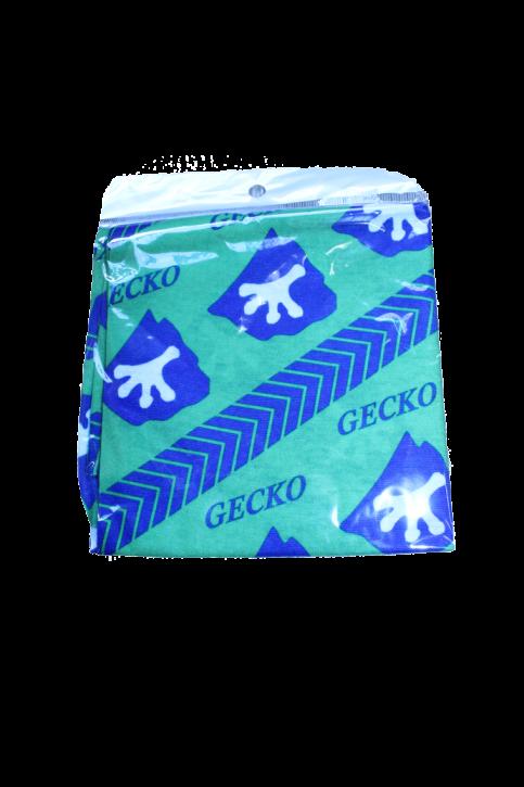 Gecko Beanie grün, blau